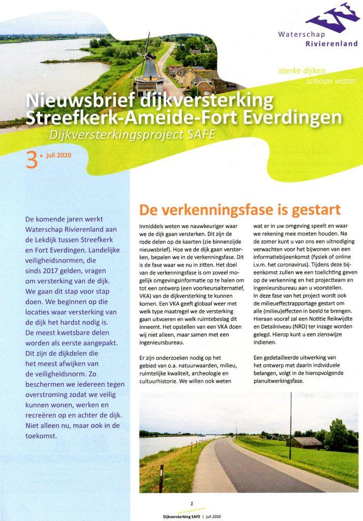 Dijkversterking SAFE (Streefkerk-Ameide-Ford Everdingen